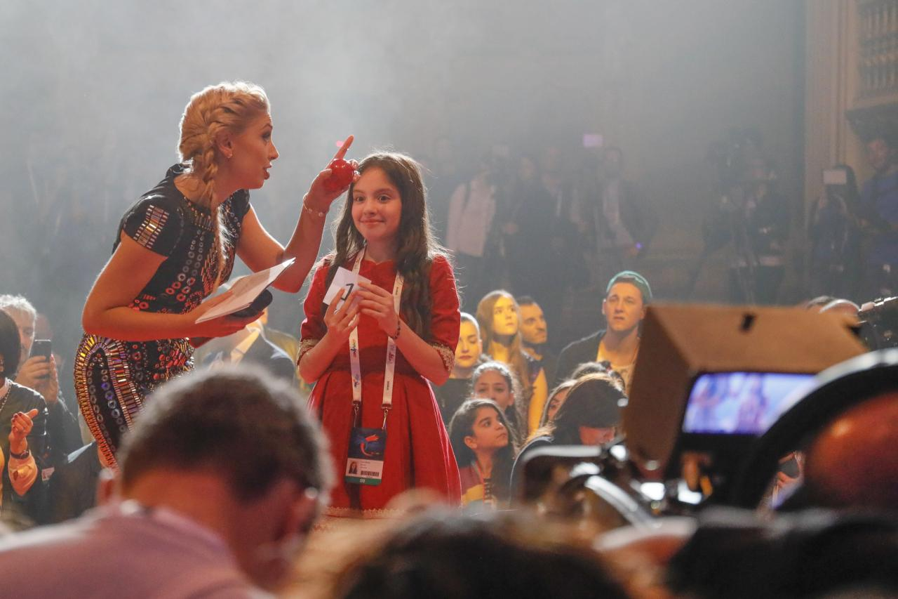 The Opening Ceremony of Junior Eurovision 2016