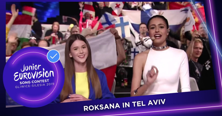 Roksana Węgiel 🇵🇱 appears at the 2019 Eurovision Song Contest
