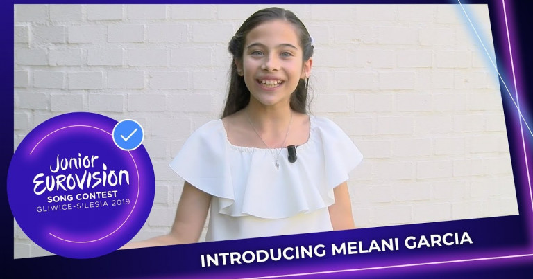 Introducing Melani Garcia from Spain 🇪🇸 - Junior Eurovision 2019