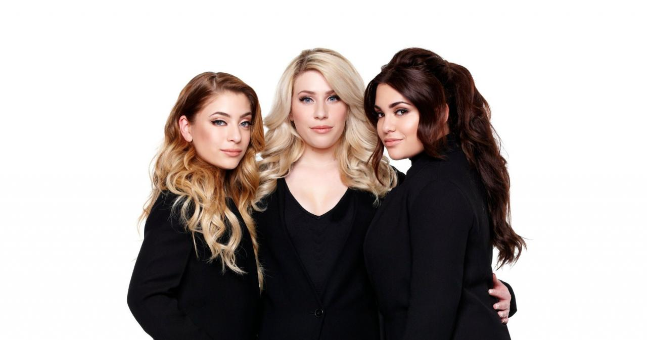 The sisters Amy, Lisa and Shelley participated at Eurovision Song Contest in 2017 as OG3NE